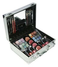 Vanity Case Beauty Cosmetic Set 46 items Travel Make Up Box Holder Holiday