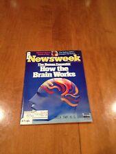 Newsweek Magazine How The Brain Works February 7 1983 OPEC Bob Mithchum