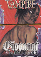 Vampire - Eternal Struggle CCG Lords of the Night Giovanni Starter Deck