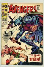 AVENGERS #50 FN / VF ( 1967 ) HERCULES LEAVES THE AVENGERS & BATTLES TYPHON
