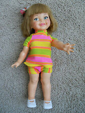 ORIGINAL VINTAGE TOY IDEAL 1966-67 GIGGLES DOLL ORIGINAL CLOTHES. 18 in.