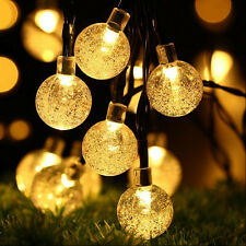 Xmas 30 LED Ball Solar Outdoor Waterproof String Lights Party Garden Patio Decor