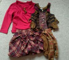 Stunning Jottum Autumn/Winter 3 piece set 3yr 98 worn once & tights