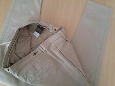 Damen Jeans Chinos Hose 7 For all Mankind Gr 38 / Gr 40 W29 L32 beige Stretch