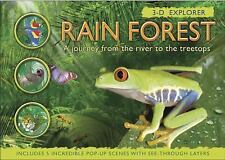 3-D Explorer: Rain Forest: A Journey from the River to the Treetops (3D Explorer