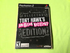 (Brand New) Tony Hawk's American Wasteland Collector's Edition PlayStation 2