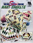 """""""SEW MANY BASKETS""""~Annnie's Plastic Canvas PATTERN BOOK ONLY~OOP~SEE PICTURES"""