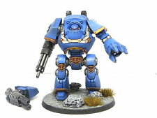CONTEMPTOR DREADNOUGHT  -  Painted, Warhammer 40K Ultramarines Space Marine Army