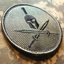 SPARTAN US ARMY USA MILITARY ISAF MORALE MILSPEC ACU DARK BADGE VELCRO PATCH
