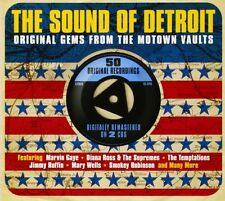 Sound Of Detroit-Motown 2-CD NEW SEALED Mary Wells/Miracles/Marvin Gaye/Contours