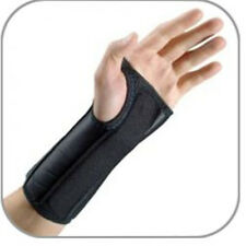 """Ezy Wrap Ultimate 8"""" Left Wrist Support, Small, Black With Looplock Velcro, NEW"""