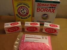Makes 5 Gallons ZOTE Laundry Detergent Kit Washing Soda Borax Homemade