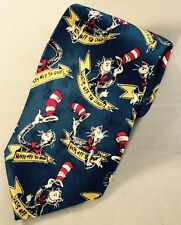 Vtg 1994 Dr. Seuss Hats Off To Dad Tie Cat In The Hat Embossed