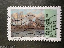 FRANCE - 2013, timbre AUTOCOLLANT 825, TABLEAU SISLEY, oblitéré, PAINTING