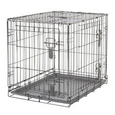 Dogit Two Door Wire Home Dog Crates with divider Small 24 x 17.5 x 20 in