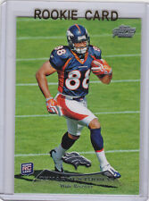 DeMARYIUS THOMAS Topps Prime 2010 NFL RC Denver Broncos FOOTBALL ROOKIE CARD