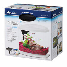 Aqueon BettaBow Black LED Desktop Fish Aquarium Kit, 2.5 galllon
