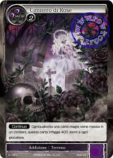 Force of Will FOW 2-136 U Cimitero di Rose Non Comune Italiano
