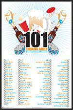 101 Drinking Games to Play Poster Print 24x36 PS9525
