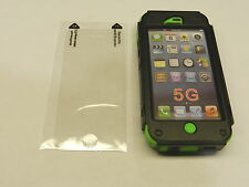NEW Apple iPhone 5 Kraken Defender A.M.S. Green and Black Cover Case