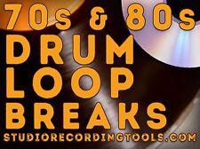 70s 80s VOL 2 Breakbeat Drum Loop Hip Hop Funk Break Wav SOUL SOUND SAMPLES BEAT