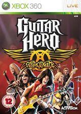 Xbox 360 juego Guitar Hero Aerosmith como nuevo