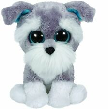 Ty Whiskers the Schnauzer Puppy Dog Beanie Boos Stuffed Animal Plush Toy