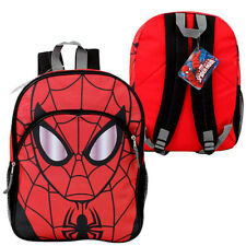 "Backpack 16"" MARVEL HEROE SPIDERMAN Kids Boys School Large Book Bag new"