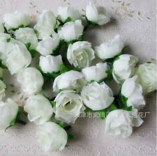 100pcs Wholesale Lot Artificial Silk Flower Heads Party Wedding Home Decor Roses