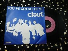 CLOUT - You´ve got all of me * 1978 France * TOP SINGLE (M-:))