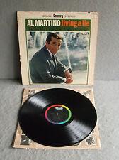 AL MARTINO  LIVING A LIE Capitol Vinyl LP Record ST2040 1960s Pop Vocals