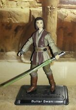 "Star Wars AOTC Jedi Bulter Swan, Geonosis Arena 3.75"" Fig. Legacy Collection."