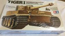 1996 Tamiya 1/35 German Tiger I Kommandant Otto Carius Model Tank Kit