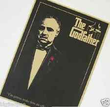 The Godfather Classics Old Movie Poster Vintage Kraft Paper Decorate Poster