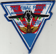 VA-75 THE FINAL PUNCH 63-97 PATCH