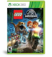 LEGO JURASSIC WORLD XBOX 360 NEW! DINOSAUR FUN ACTION! FAMILY GAME PARTY NIGHT!#