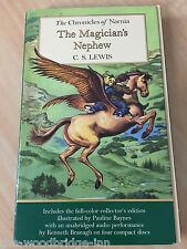 The Magician's Nephew Complete & Unabridged by C. S. Lewis Book & 4 x Cd Set T10