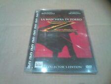 LA MASCHERA DI ZORRO A.BANDERAS A.HOPKINS DVD JEWEL BOX USATO PEFETTO - OTTIMO