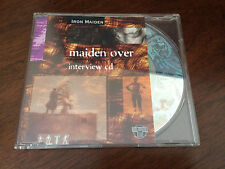 "Iron Maiden Holoview Interview CD ""Maiden Over"" Super Rare!!!!"