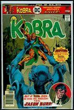 DC Comics KOBRA #4 VFN 8.0