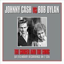 The Singer & The Song by Johnny Cash/Bob Dylan *New CD*