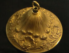 """NEW Victorian Style Die Cast Brass Ceiling Canopy, 5 1/2"""" diameter Unfinished"""