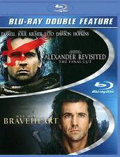 New Genuine Wb 2 Blu Ray Alexander Revisited Braveheart Free Fast 1Stcls S&H