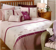 Aussino ELLEN Embroidered King Size Quilt Doona Cover Set 100% COTTON 260TC