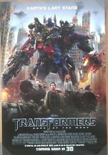 TRANSFORMERS 3 DARK OF THE MOON MOVIE POSTER 2 Sided ORIGINAL 27x40