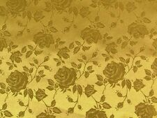 """Rose Satin Brocade Jacquard Fabric 60"""" Wide. $7.50/YD CHOOSE FROM OVER 30 COLORS"""