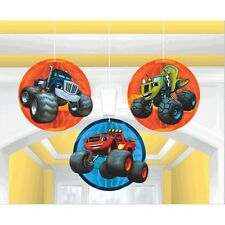 Blaze and the Monster Machines Honeycomb Ball Decoration Birthday Party Supplies