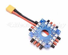 Power Distribution Board ESC Connection w/ XT60 3.5mm Bullet Connector Soldered