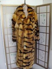 BRAND NEW CANADIAN RED & BLACK FOX FUR COAT JACKET MAN MEN SIZE CUSTOM MADE