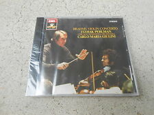 BRAHMS-CONCERTO IN D-ITZHAK PERLMAN-CARLO GIULINI-CD-FACTORY SEALED-NEW!
